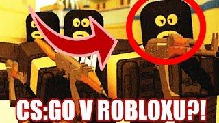 CS-GO V ROBLOXU?! :O | Roblox Counter-Blox: Roblox Offensive
