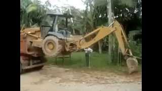 amazhing driving in kerala jcb