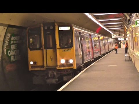 Great Northern Class 313/0 - 313052 Departs Moorgate For Welwyn Garden City
