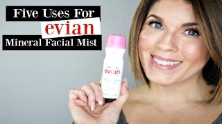 Five Ways to Use Evian Facial Mist | @girlythingsby_e