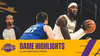 HIGHLIGHTS | Los Angeles <b>Lakers</b> vs Los Angeles Clippers
