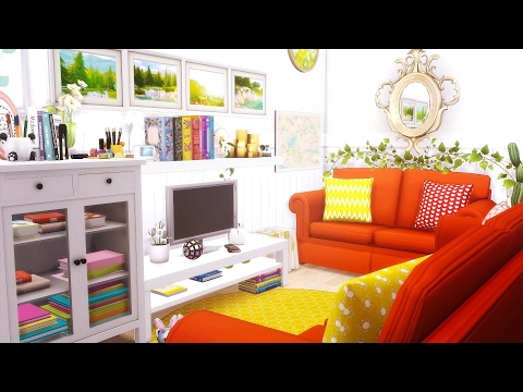 The Sims 4 | Speed Build & Decorate #2 | Maxis Match