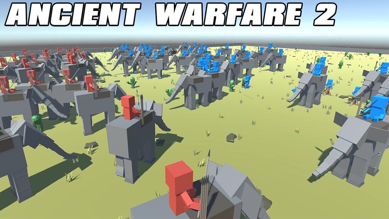 Ancient Warfare 2 ancient warfare 2 gameplay - elephant mayhem!