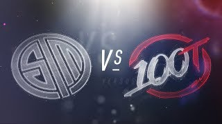 Video TSM vs. 100 - NA LCS Week 3 Day 2 Match Highlights (Spring 2018) download MP3, 3GP, MP4, WEBM, AVI, FLV Juni 2018