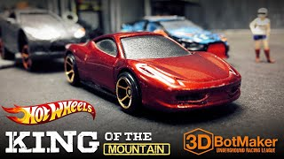 Our 1st Ferrari EVER!!! - Hot Wheels Custom Diecast Car Racing