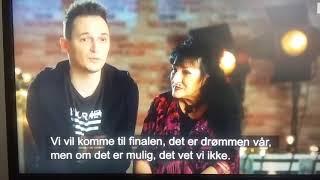 Krótkie urywki  z Norweskiego Mam Talent 2017 rok, w którym brałam  udział z moim Synem Orestesem Video