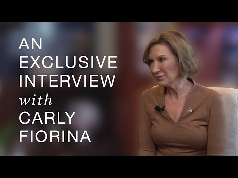 An Exclusive Interview with Carly Fiorina— 9/16/15