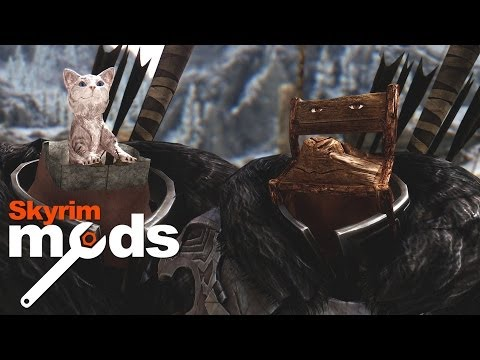 Chair Face Obama's Crimes Against Humanity - Top 5 Skyrim Mods of the Week