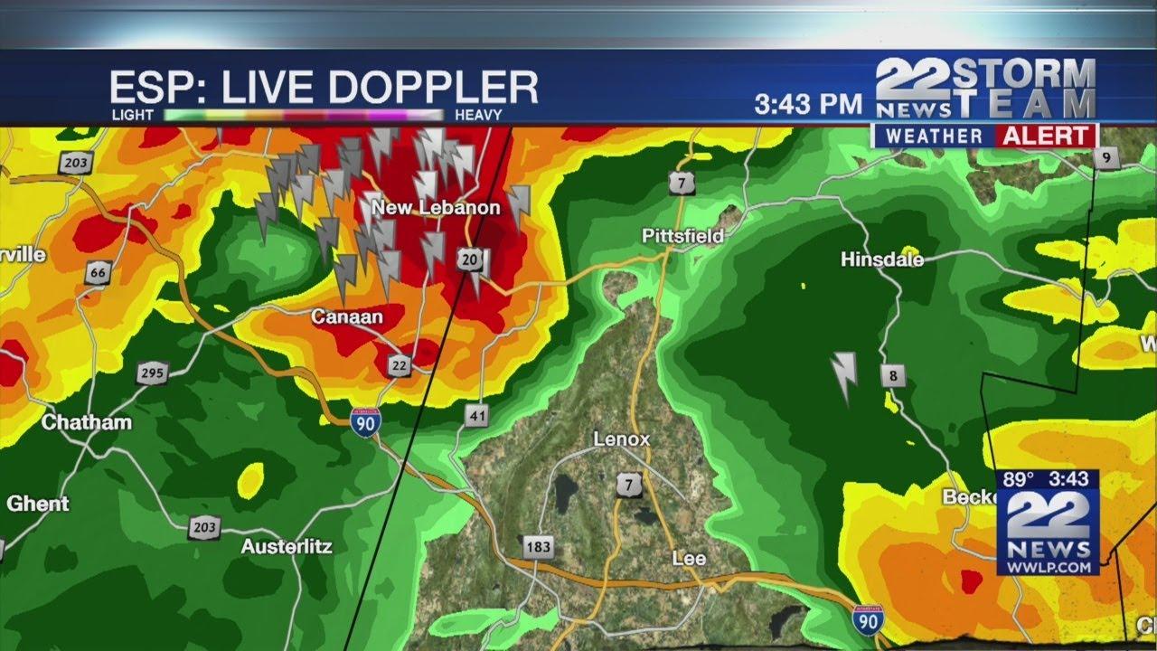 Severe thunderstorm warning issued for parts of Massachusetts