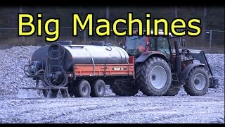 World's best tractor Valmet Valtra-Caterpillar 972G Wheel Loader-Volvo 210B Excavator
