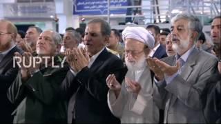 Iran: Ayatollah Khamenei leads Eid al-Fitr prayers at Tehran's Great Musalla