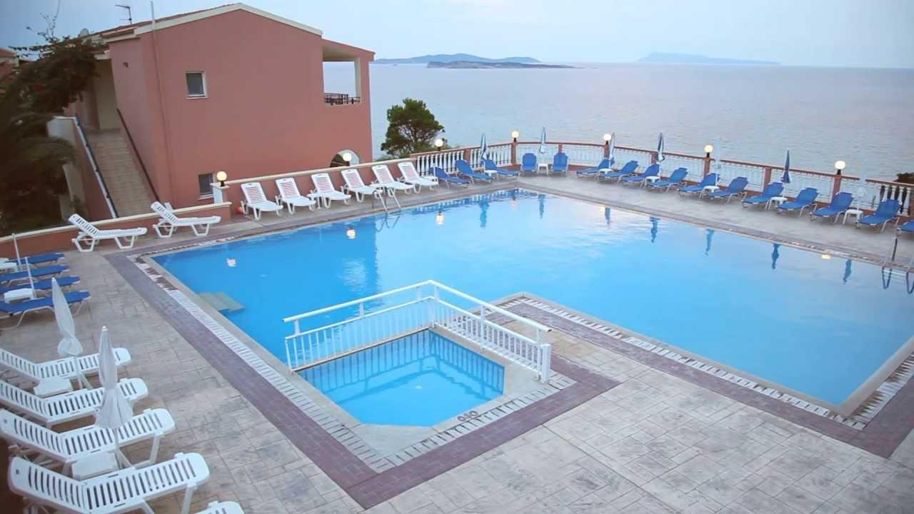 Romanza Hotel, San Stefanos, Corfu - YouTube