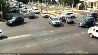 ДТП на ул Тургенева и ул Калинина 17 08 15