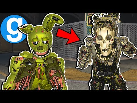 Super Scary Springtrap! FNAF 3 Pill Pack Part 2 [Garry's Mod Gameplay] Five Nights at Freddy's thumbnail