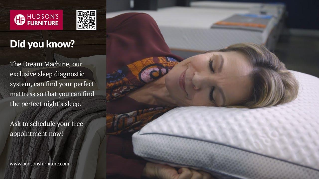 Superb Find The Perfect Mattress With The Dream Machine At Hudsonu0027s Furntiure