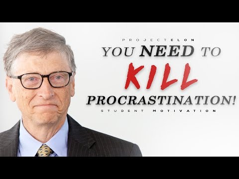 You Need To KILL Procrastination! - Student Motivational Video