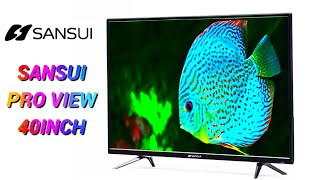 Sansui Pro View 102cm 40 inch Full HD LED Smart TV 2019 Edition 40VAOFHDS - #sansui_smart_Tv - 18k
