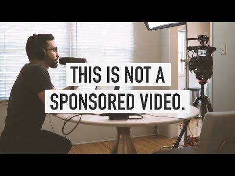 This is NOT a sponsored video.