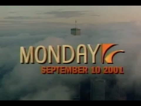 World Trade Center One Day Before 9/11 | September 10, 2001 from The Early Show