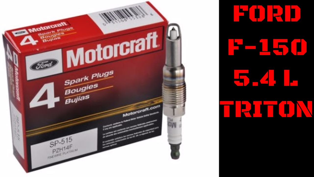 Ford F 150 Triton Spark Plug Removal Replacement Installation Tips Timing A 351 Engine And Tricks Video