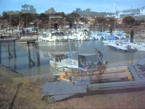 S coport mise l 39 eau et sortie d 39 eau au port sec de - Port de meschers ...