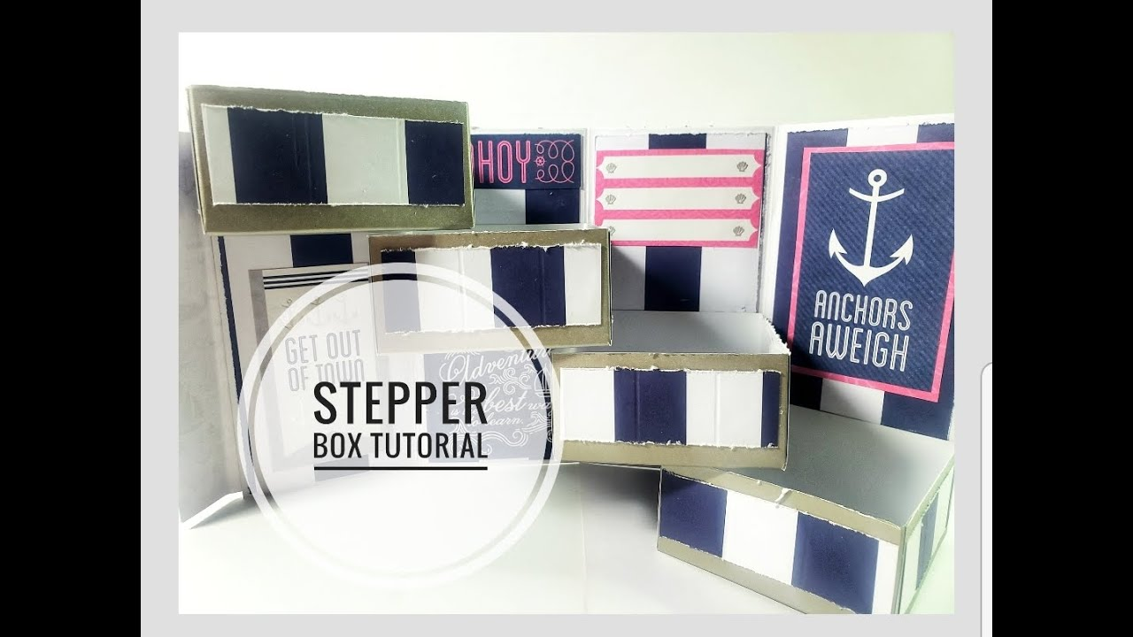 Stepper Box Tutorial feat. OddBall Art Stamps