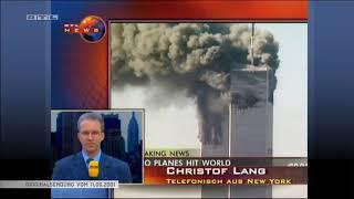 11 September 2001 Live Nachrichten von 15 09 Uhr bis 22 30 Uhr vom 11 09 2001 Zusammenschnitt Yo