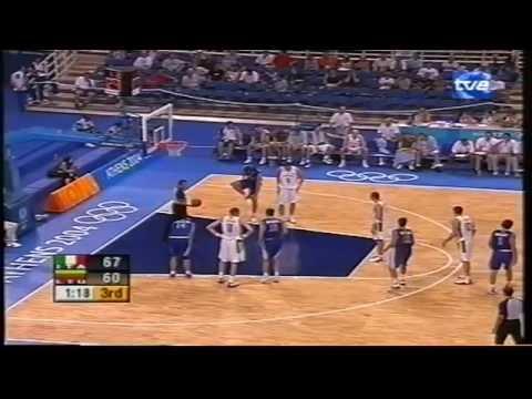 2004 Olympics Italy vs Lithuania Semifinal
