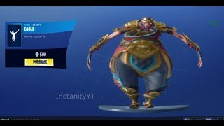 FORTNITE EAGLE DANCE EMOTE BASS BOOSTED