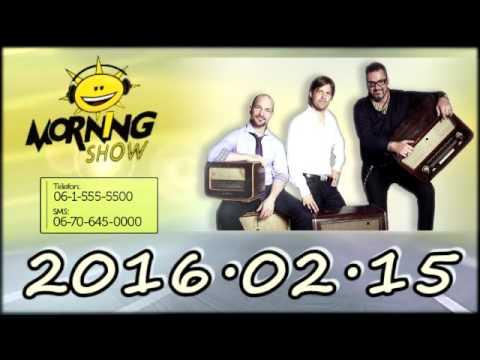 Class FM Morning Show Adás 2016 02 15 [Hétfő] Dj kurzus, Stephanus csaló jósm Patrik&Dorina valentin