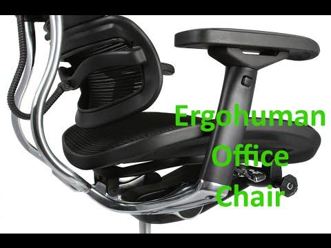 ergonomic office chair ergohuman plus mesh armchair - Ergohuman