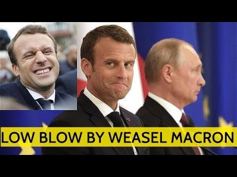 Putin Offers Help To Restore Notre Dame; Macron Answer? Sending French Tanks On Russia Border!