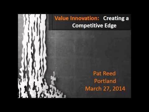 March 27 2014 PDX Agilist  Meetup - Innovation Value by Pat Reed