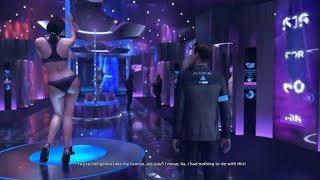 Detroit Become Human How-to Walkthrough Gameplay w Eden Sex Club, Pirates' Cove Chapters