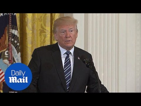 'Very very sad' Trump makes statement on Texas high school shooting - Daily Mail