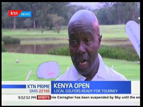 Kenya Open: Local golfers ready for tourney
