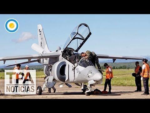 "Macri presentó los aviones ""Pampa III"" | #TPANoticias"