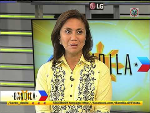 Leni explains where campaign funds come from