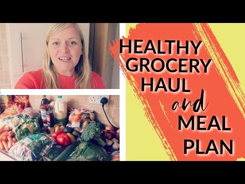 Healthy Aldi Grocery Haul and Meal Plan UK | Family of 6