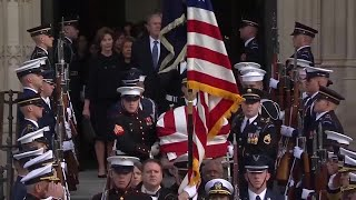 Montanans reflect on carrying George H.W. Bush's casket