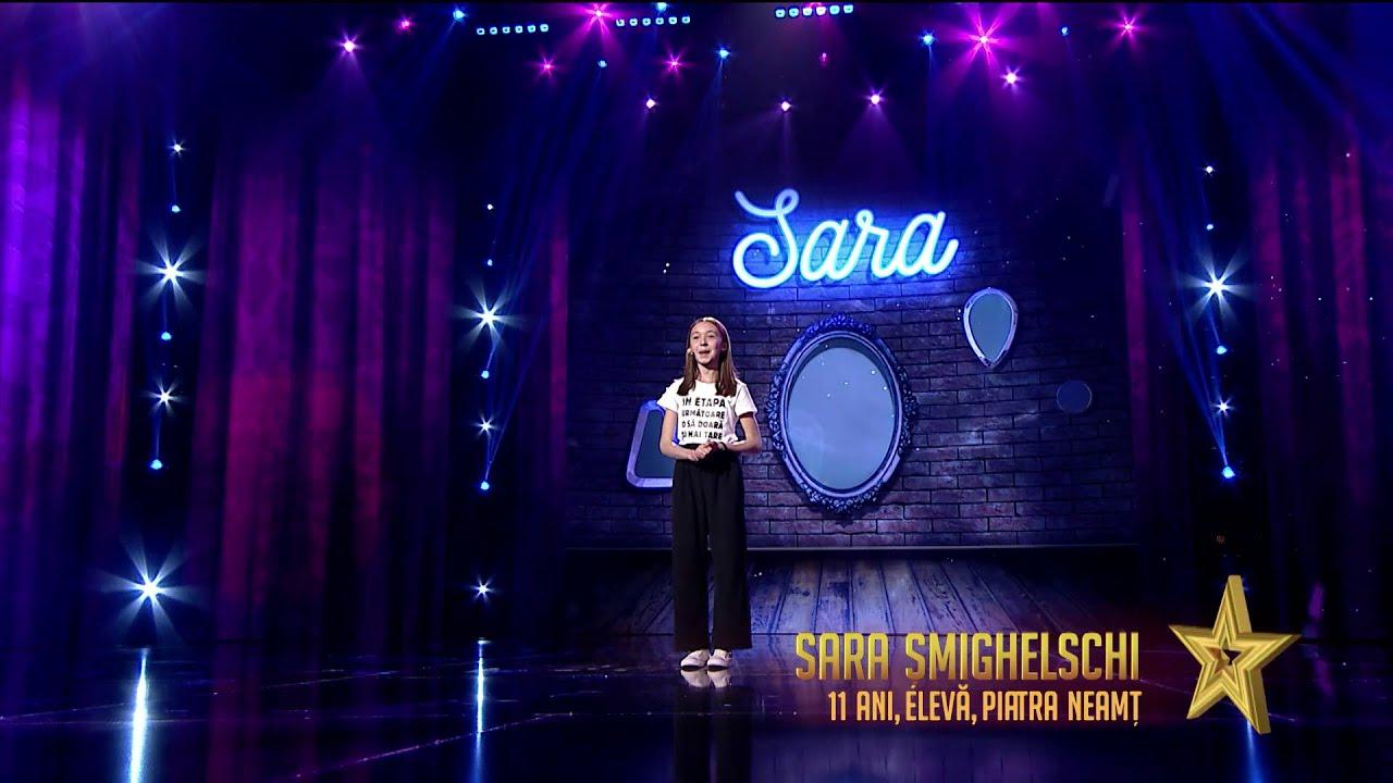 Românii au talent 2021: Semifinala 1 (prestație) – Sara Șmighelschi - roast