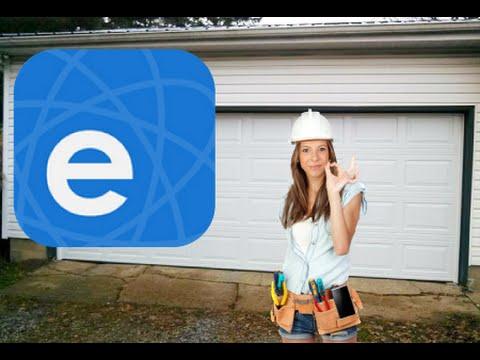 Wifi Switch Garage Door Opener On Phone Sonoff Wifi Youtube