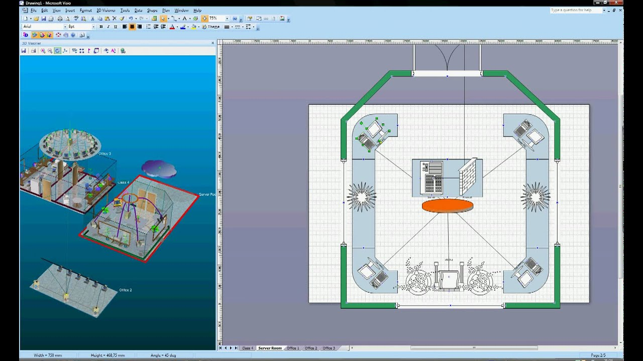 Wise 3d Visioner Is An Add On For Microsoft Visio Short