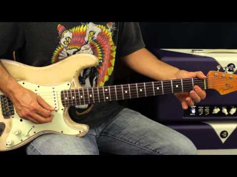 Huey Lewis & The News - The Heart Of Rock And Roll - Guitar Lesson - 80's Song