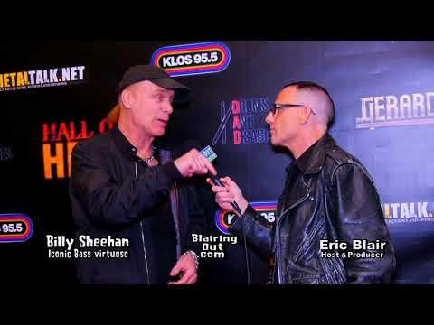 Billy Sheehan & Eric Blair talk John Wetton & Jeff Scott Soto 2018