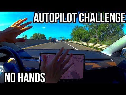 Navigate On Autopilot with NO Interventions | TESLA CHALLENGE #1