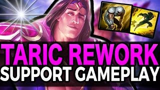 TARIC REWORK SUPPORT GAMEPLAY - League of Legends