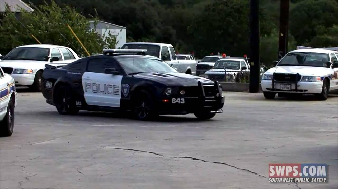 Barricade Vehicle Tractors : Barricade transformers police car install swps btm
