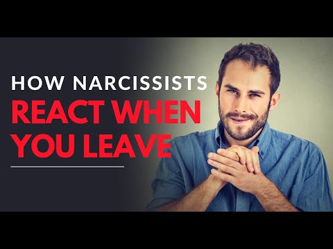 How Narcissists React When You Leave