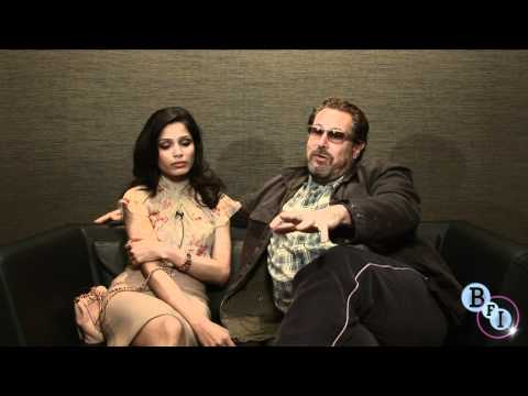 Miral: LFF Interview with Julian Schnabel and Freida Pinto